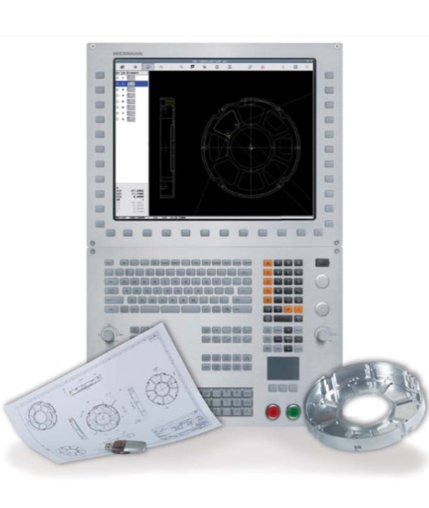 L'iTNC 530 est une commande numérique Heidenhain de contournage polyvalente :