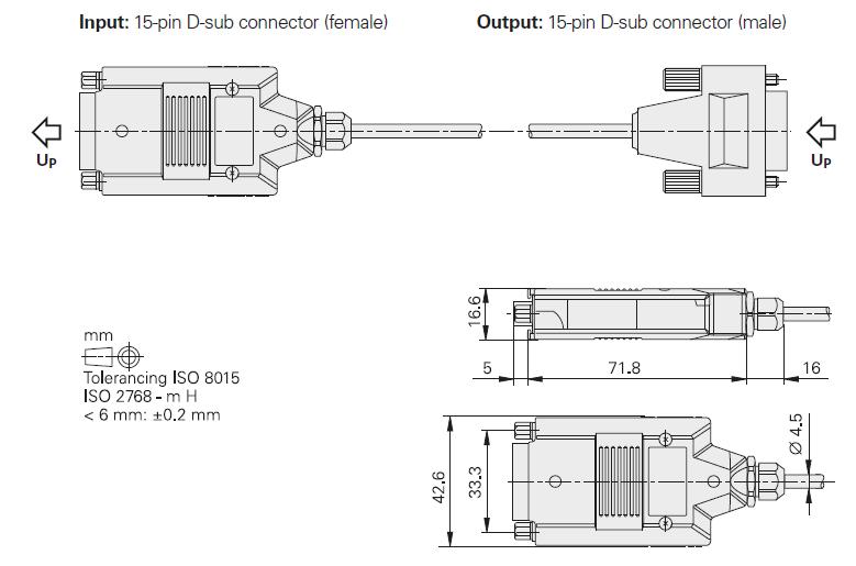 cable EIB 3391 Y - schéma