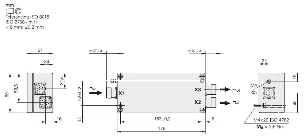 boitier IBV 6000 - schéma