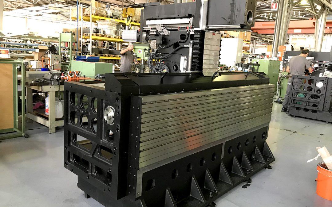 Le procédé de fabrication des centres d'usinage C.B. Ferrari