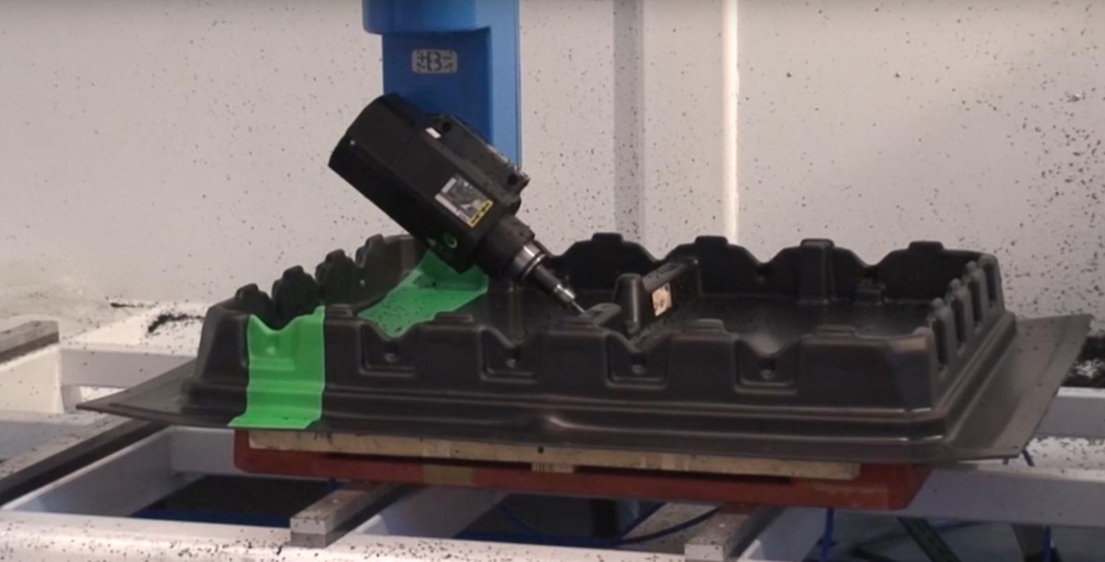 Usinage plastique avec machine de fraisage LaborMix COMI