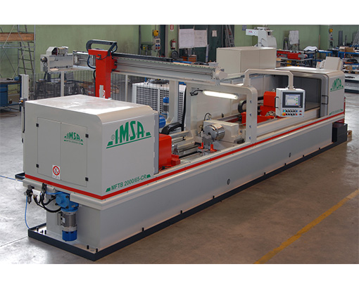 Les machines de forage de pièces cylindriques IMSA