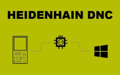 Communication entre Windows et la CN Heidenhain