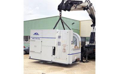 Livraison d'une nouvelle foreuse MF1000C IMSA