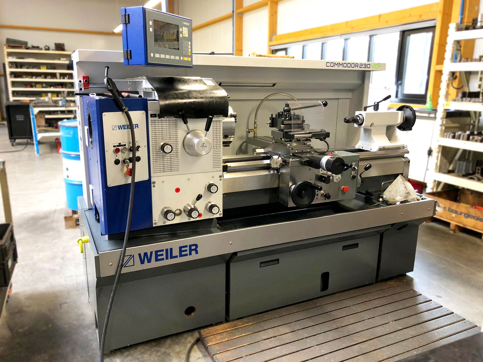 Tour-conventionnel-Weiler-Commodor-230-VCD-RATMO