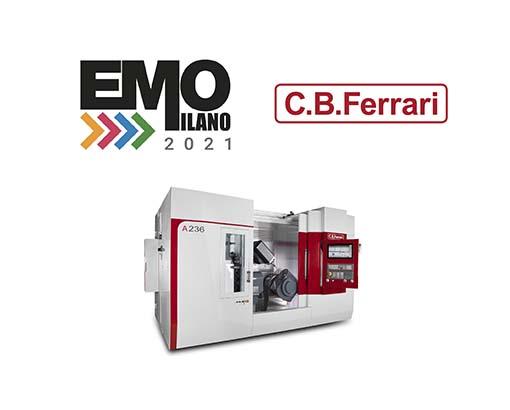 C.B. Ferrari au salon EMO Milan